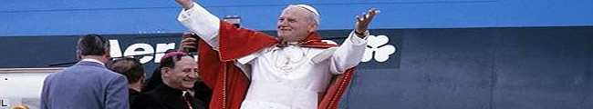 Pope John Paul II in Ireland Elegy on a Soccer Loving Pope