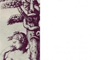 """Adam and Eve"" (1512-14) Marcantonio Raimondi"