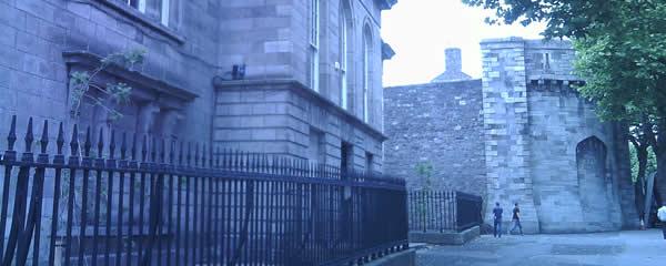 Kilmainhams Gaol Gates