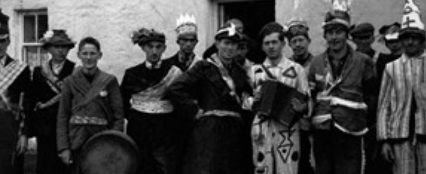 Wren Boys in Ireland on Saint Stephens Day