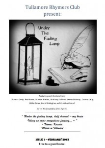 """Under the Fading Lamp"" Launch from Tullamore Rhymers Club"