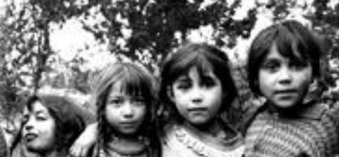 Romany child victims of the holocaust
