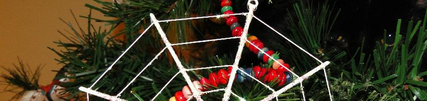 Tinsel, Spiders and Christmas Trees