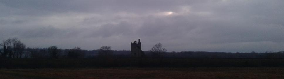 Sragh Castle in Tullamore - scene of historic and battles of legend!