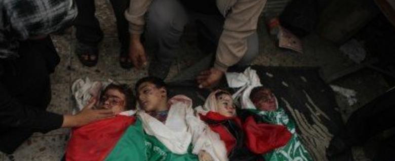 Dead Children in Gaza