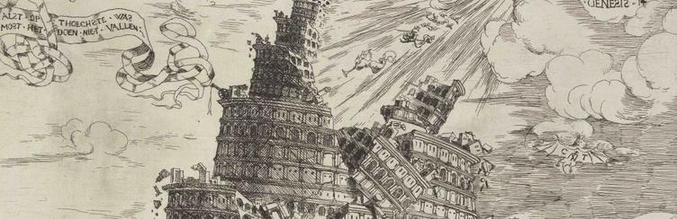 Tower Of Babylon Falling