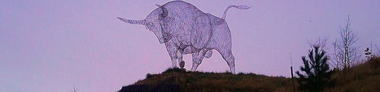 Brown Bull of Cooley - Road Sculpture
