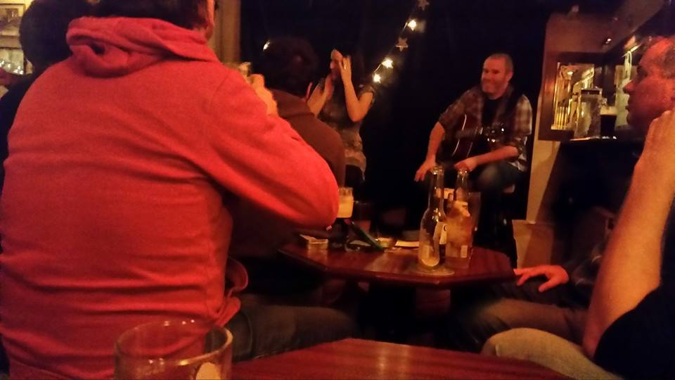 Hear about the Dubliner, the Wicklow person and the Longford person? No, its not a bad joke, but an excellent band, and their first gig for Seachanges was at the last Scene of the Rhyme in Tullamore