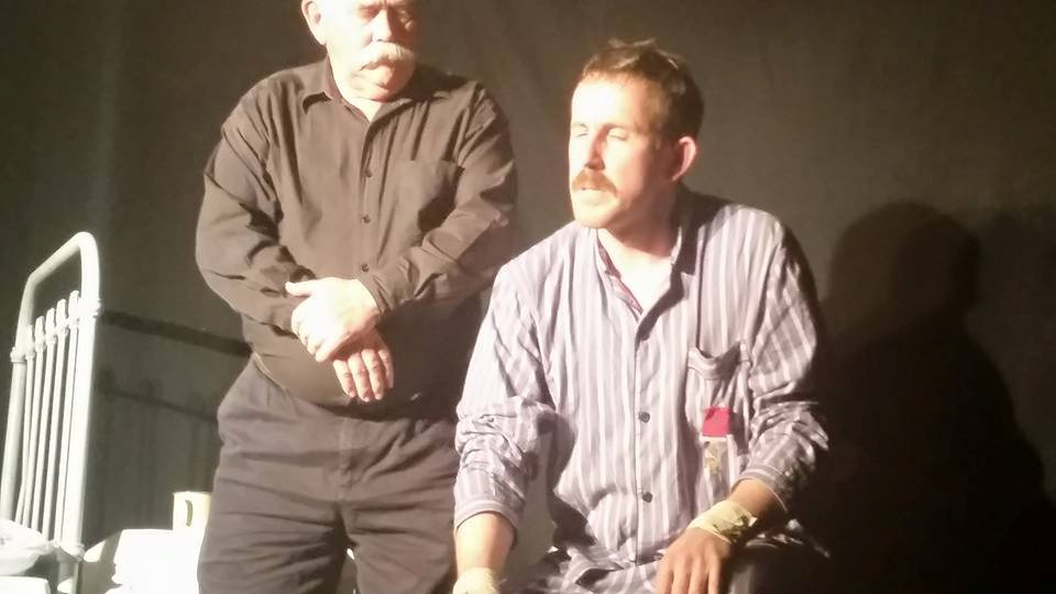 Two men and a bed is all it takes to make a family friendly play in Galway...