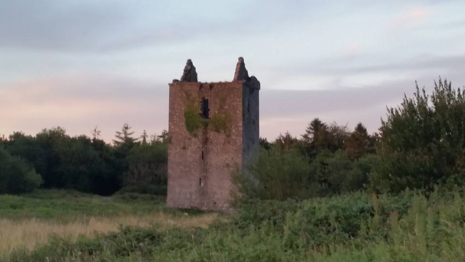 Castle in Merlin Woods