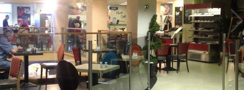 The Muses Cafe in Easons in Dublins O Connell Street
