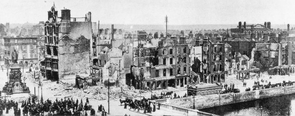 Dublin in 1916 - was it for the Ireland of today we rebelled and what future will we see