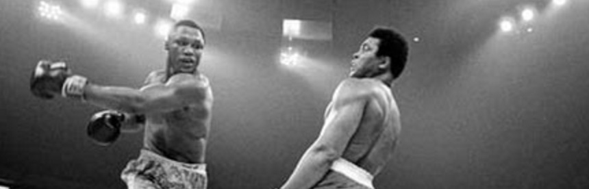Muhammad Ali - truly the greatest, not only at fighting but for his outlook on life... he was the philosopher boxer
