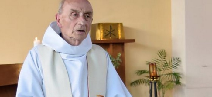 Murdered by Islamic State aligned fanatics. Fr Jacques Hamel RIP.