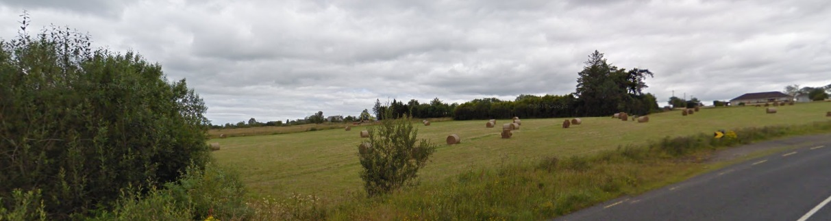 Gaigue near Ballinamuck in Longford - the approximate location of Garristown