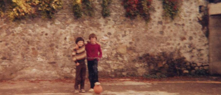 As a child in Banagher - I never did make it in the soccer world!!!