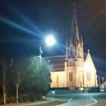 Church at Edgeworthstown - to spite scandals our faith is still important in Ireland
