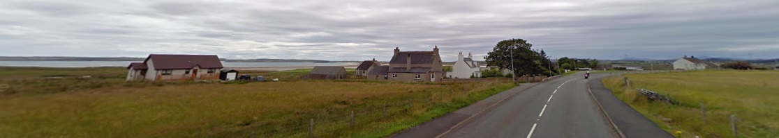 Tong in the Isle of Lewis in Scotland - home to the mother of that motherf Donald J Trump...