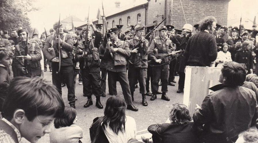 Kenny seized the opportunity of Brexit to show how Ireland can be united without voilence, which in previus decades had led to Irish troops being ordered by officers to bayonet their own people, which to the soldiers eternal credit they refused to do.