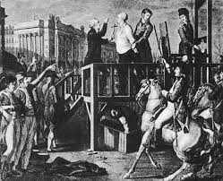 Abbe Edgeworth at the killing of the King of France