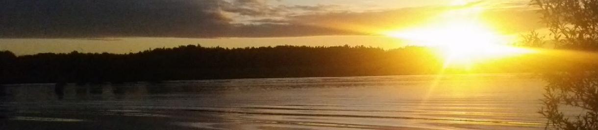 Dawn on the River Corrib