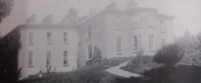 Derrycassin House in North Longford, close to Culray where Catherine Dopping who was now Mrs John Smith lived with her children, and her descendants live to this day.