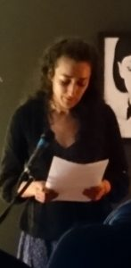Arabic and Persian poetry at Bread and Salt Event in the Black Gate Theatre