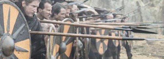 "Detail of still from ""Vikings"""