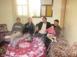 Meeting El Habib Louai in Morocco