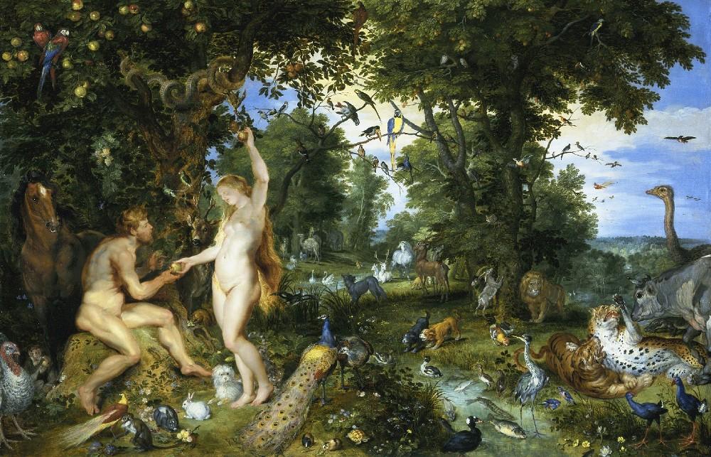 Jan Brueghel the Elder - Paradise and the Fall
