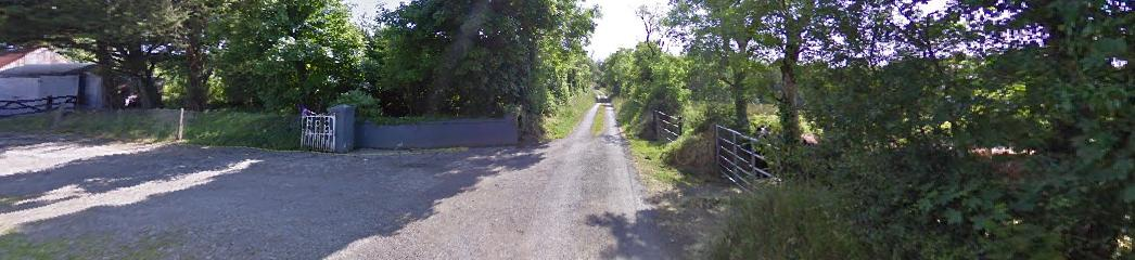 The Duignan homestead in Edenmore in Longford where Chicago May grew up - picture from Google Streetview