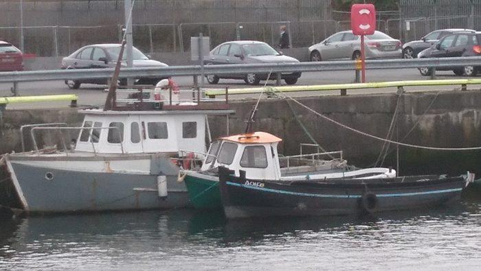 Boats at Galway Docks