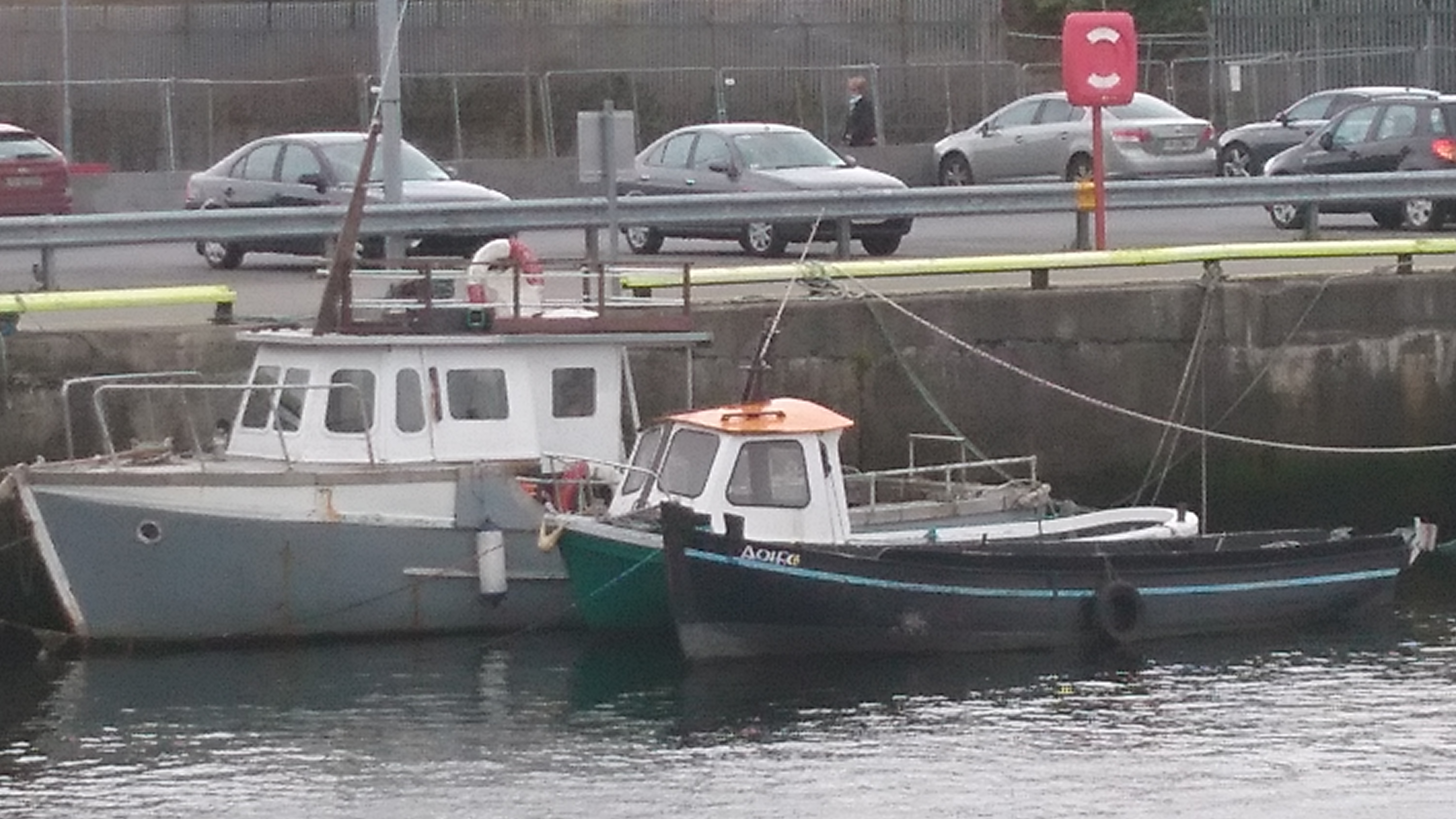 Boats at Galway Docks