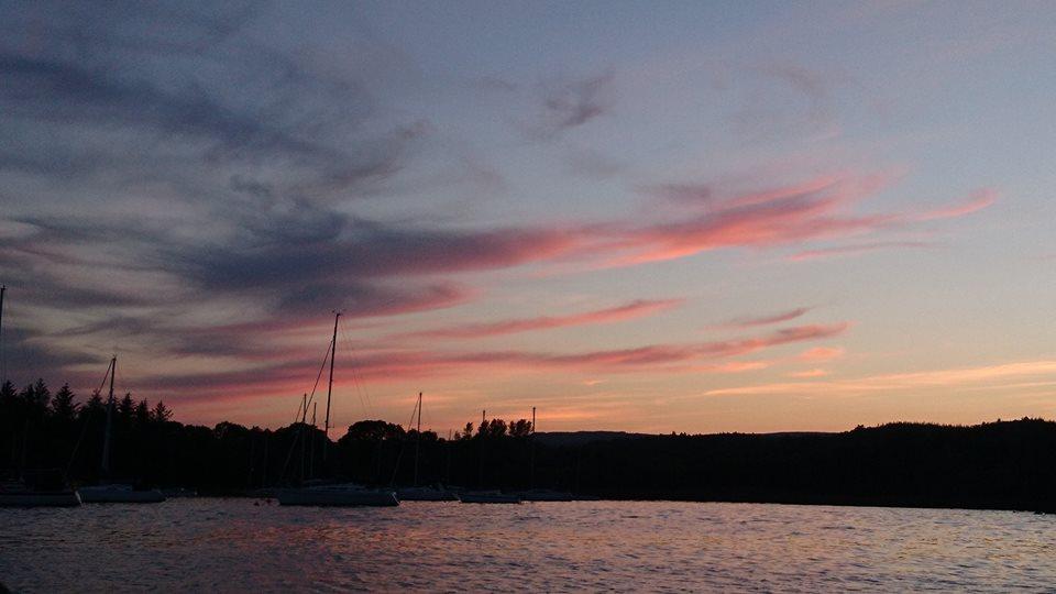 Mountshannon in the evening sun...