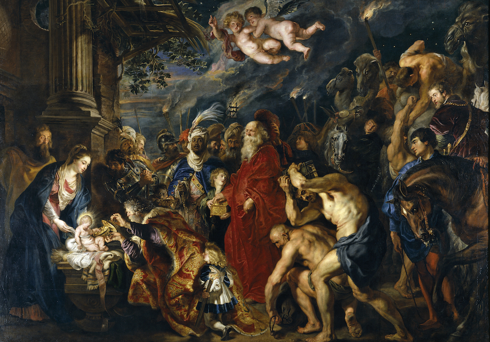 Rubens Adoration of the Magi (1609-1629) Photo: Wikimedia Commons